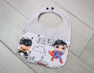 Bavaglino supereroi personalizzato