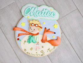 fFiocco nascita Piccolo Principe con nome Matteo