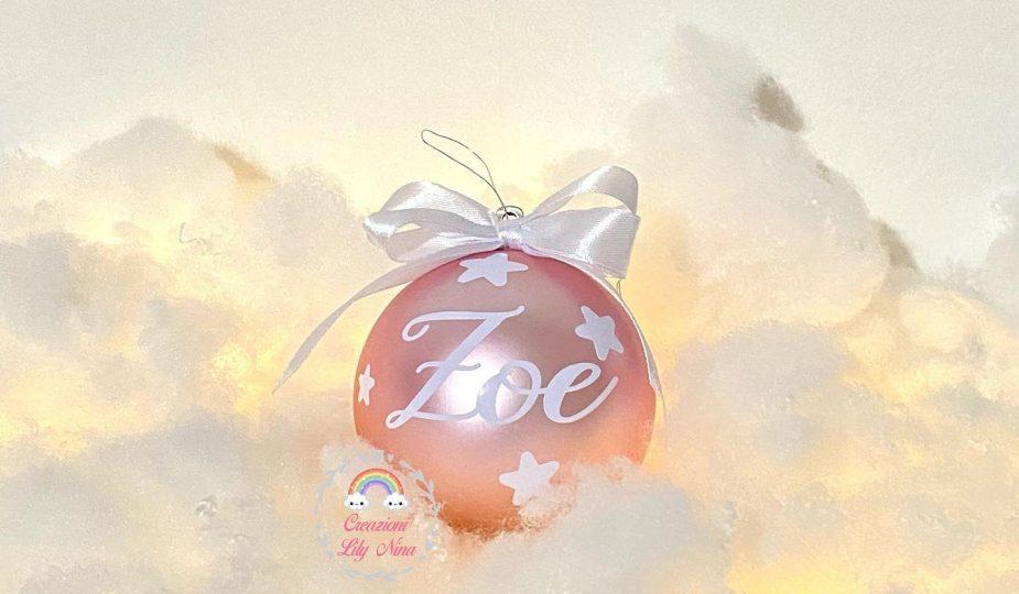 Palline Natale personalizzate con nome